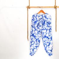 Celana Aladin Panjang Jumbo Motif Tie Dye Batik Jogger Wanita Pria