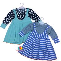 Dress Kiki size 1-2 Tahun / Dres Overall Anak Perempuan Baju Gaun