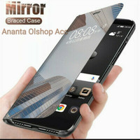 SAMSUNG Galaxy S20 FE Flip Case Clear View Mirror Standing Cover S20fe