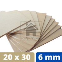 Papan MDF Premium Tebal 6 mm [20 X 30 CM]