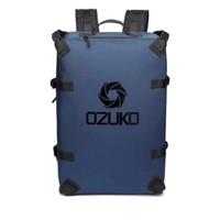 Tas Backpack Pria Ozuko 9235 Tas Ransel Cowo Waterproof