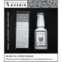 Avenir Beard Oil. With Argan & Kemiri Oil. Minyak perawatan brewok