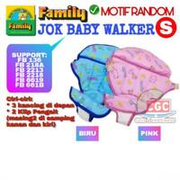 Jok Family Baby Walker ORI Ukuran S Hijau Orange 136 6619 551b 661b