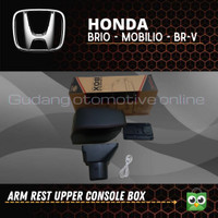 Arm rest console box brio - mobilio - brv - ignis - agya with charger