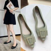 sepatu wanita sepatu kerja sepatu flat jelly wanita HAFA import 913 2H