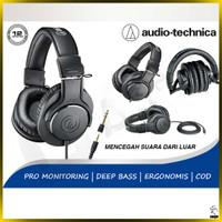 Headphone Monitoring Audio Technica M20x Earphone Headset Studio Ori