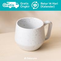 Dekoruma Java Cangkir Kopi Tahan Panas 250 ml - Porselen   Mug Coffee