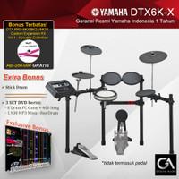 Drum Elektrik Yamaha DTX6K-X / DTX6KX / DTX 6KX / DTX 6 KX / 6K / 6KX