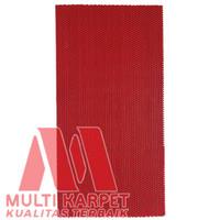 Keset Karpet Kamar Mandi PVC AntiSlip ukuran 30 x 60 cm - Jaring 6mm