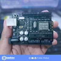 UNO Compatible Built In WiFi - ATmega328P-PU ESP8266-12F - Arduino IDE