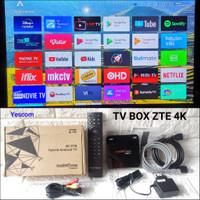 TV BOX ZTE 4K B860H SIAP PAKAI TV BOX ANDROID