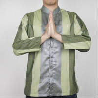 Galvano Baju Koko Muslim Kemeja Lengan Panjang Pria B - L