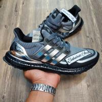 Sepatu Adidas Ultra Boost 3.0 Black Metallic Silver