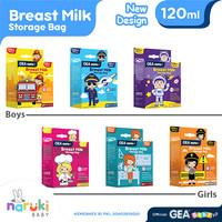 Kantong ASI Gea Baby 120 Breastmilk Storage 120ml isi 30 pcs