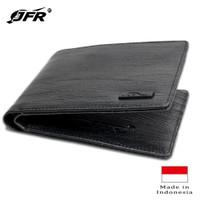 JFR Fashion Dompet Pria Bahan Kulit PU JP34 George Series - Hitam