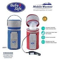 Baby Safe LB217 Mobile Warmer Milk Pemanas Botol Penghangat Susu ASI