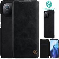 Nillkin Qin Flip Case Xiaomi Mi 11 - Mi11 - Leather Cover Stand Dompet