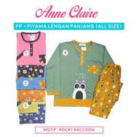 Piyama Babydoll Anne Claire Lengan Panjang Celana Panjang