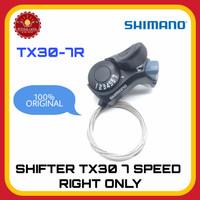 SHIMANO TX30-7R Shifter Sepeda 7 Speed Kanan Saja