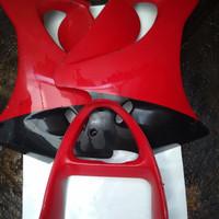 fairing bawah ninja rr old merah original kawasaki