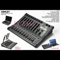 Mixer Audio ASHLEY LM8 LM 8 8Channel free Koper Original USB Bluetooth