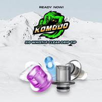 Komodo Drip Tip 510 Whistle Series Authentic / 510 Drip Tip Gepeng