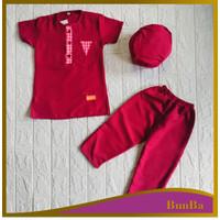 Setelan Baju celana Peci Koko Gamis Bayi Balita Anak anak Laki laki