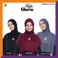 Rocella Sports - Hijab Sport Gloria - Jilbab Olahraga Instant