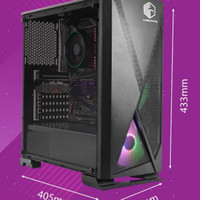 pc gaming intel i3 9100f feat msi gtx 750ti dualfan no ryzen