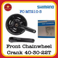 SHIMANO ALTUS MT210 Front Chainwheel Crank Sepeda 3x9 Speed