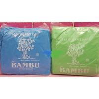 Jas Hujan Sekali pakai plastik BAMBU Setelan ( Hijau / Bambu )