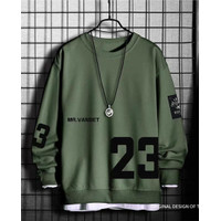 Baju Atasan Pria Lengan Panjang Kaos Cowok Fashion Motif 23 Kekinian