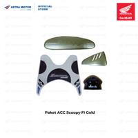 Paket ACC Honda Scoopy FI Gold/ Blue/ Red 08000K16GLD