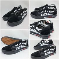 Sepatu Vans Authentic Army Premium Quality - Hitam, 37