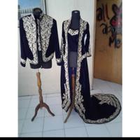 baju pengantin adat jawa/ baju pengantin bludru