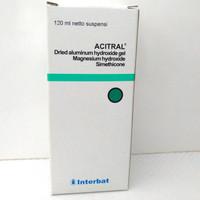 acitral sirup cair 120ml obat maag lambung kembung dewasa mirip promag