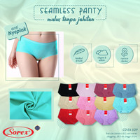 Celana Dalam Wanita Seamless CD perempuan Tanpa Jahitan Sorex EA 509