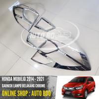 Garnish lampu Belakang Honda Mobilio Chrome Tail Lamp Garnish