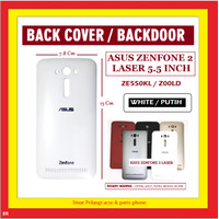 ASUS ZENFONE 2 LASER ZE550KL 5.5 INCH BACK COVER WHITE 904472