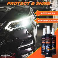PROTECT AND SHINE spray pelindung cat anti gores kendaraan mengkilap