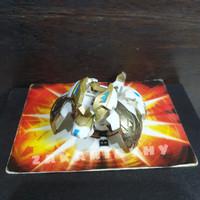 Bakugan Bakutech Shield Leoness with Gold Part Original (Rare)