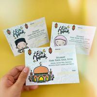 Greeting Card Kartu Parsel Lebaran Eid Mubarak Kartu Ucapan Idul Fitri