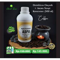 Disinfektan Organik + Aroma Terapi, (konsentrat) 500 ml - coffee
