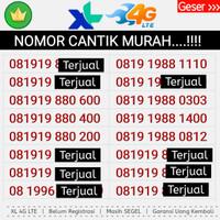 Perdana Nomor Cantik XL 4G LANGKA Murah ABAB AABB 0818 no