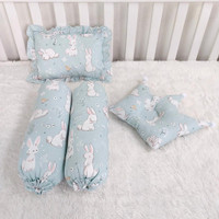 Bantal guling bayi-set bantal guling bayi-baby pillow bolster-rabbit