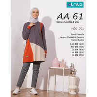 Atasan Kaos Wanita Seratus Ribuan Alnita( AA 59/AA 061)
