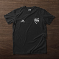 Kaos Arsenal Adidas Premium Cotton Combed - Putih, S