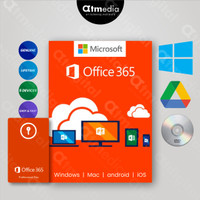 Microsoft office 365 Pro Plus Original License Lifetime - DVD