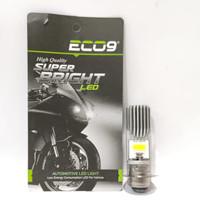 ECO9 LAMPU DEPAN MOTOR LED M5 H6 PNP DC BEAT FI VARIO 125 MIO 125 DLL