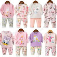 Baju tidur anak/ setelan / piyama import perempuan 1-10th Ku Bao 2
